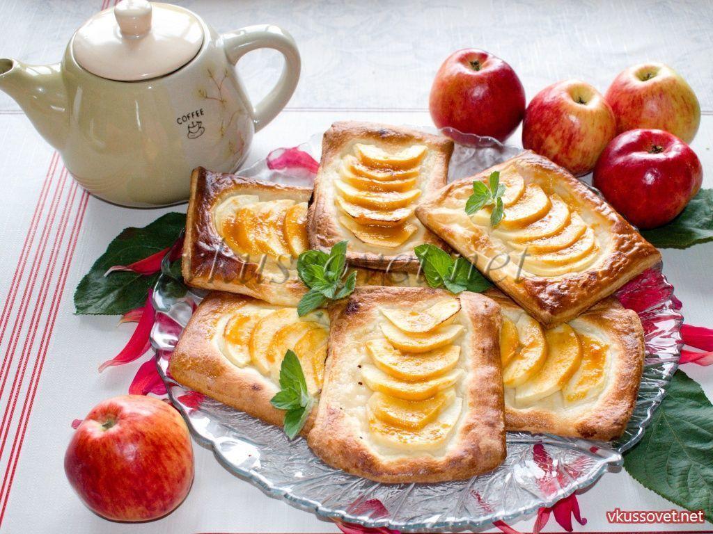 Яблоки в слойке рецепт – выпечка и десерты. «Еда» | 768x1024