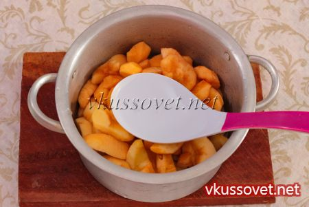 Яблочное пюре без сахара на зиму