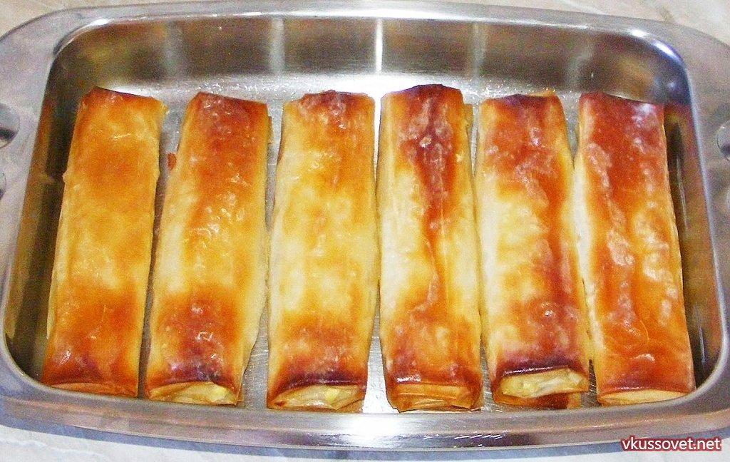 штрудель сыром рецепт фото