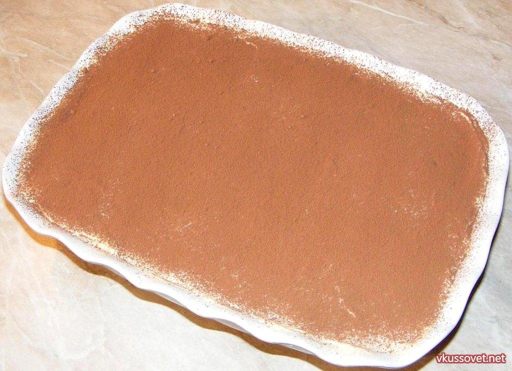 торт тирамису рецепт с фото без яиц