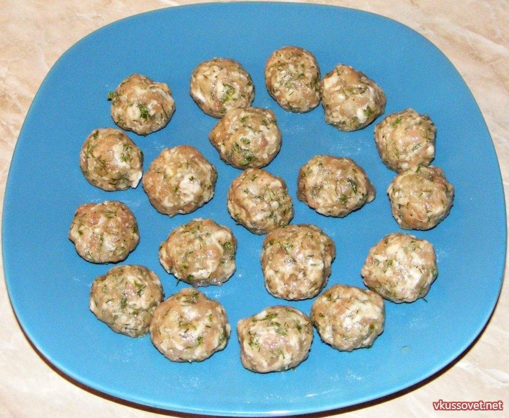 Фрикадельки из фарша рецепт пошагово