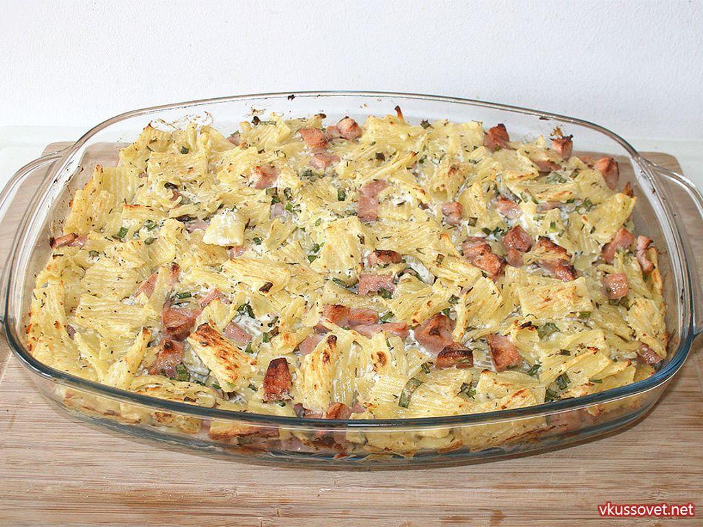 Рецепты с вареной колбасой и макаронами
