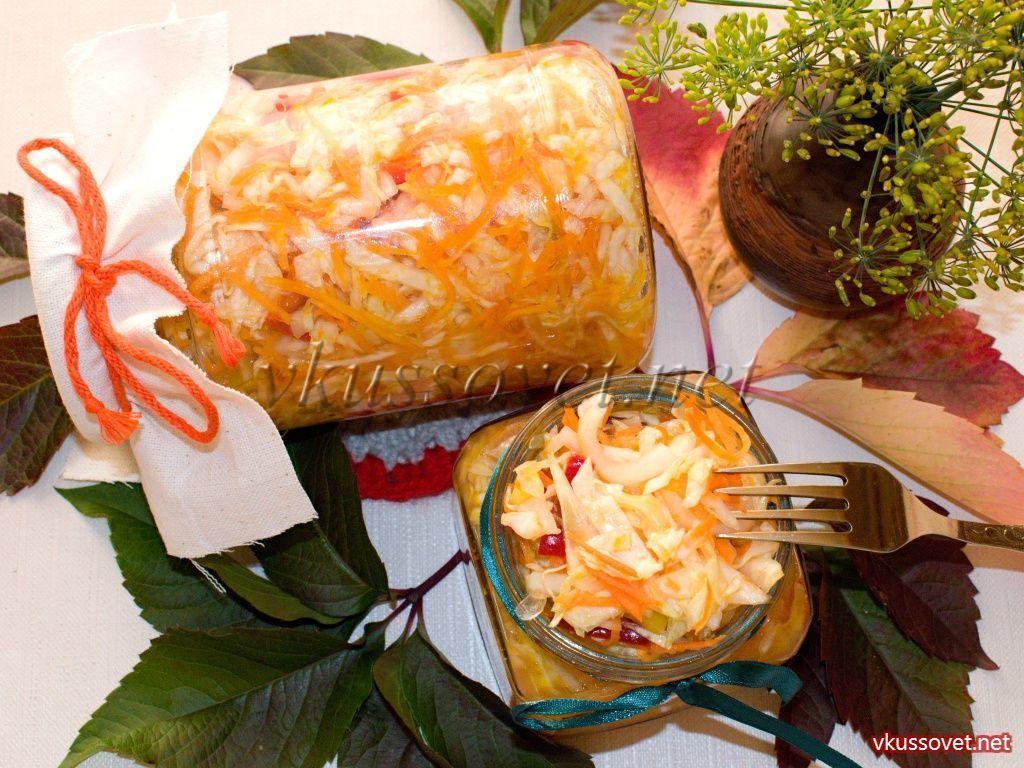 салаты на зиму рецепты с морковью и