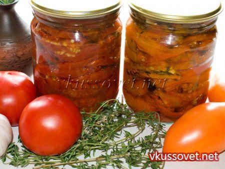 Бурые помидоры на зиму рецепты с фото пошагово