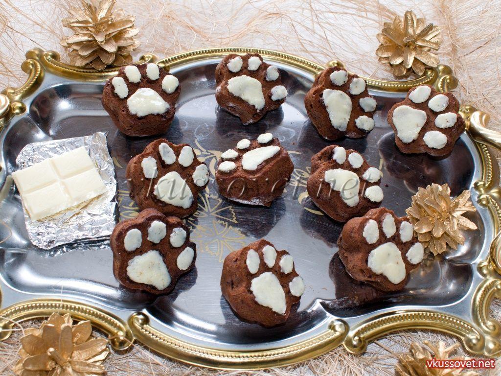 Рецепт кексов шоколадные в формочках