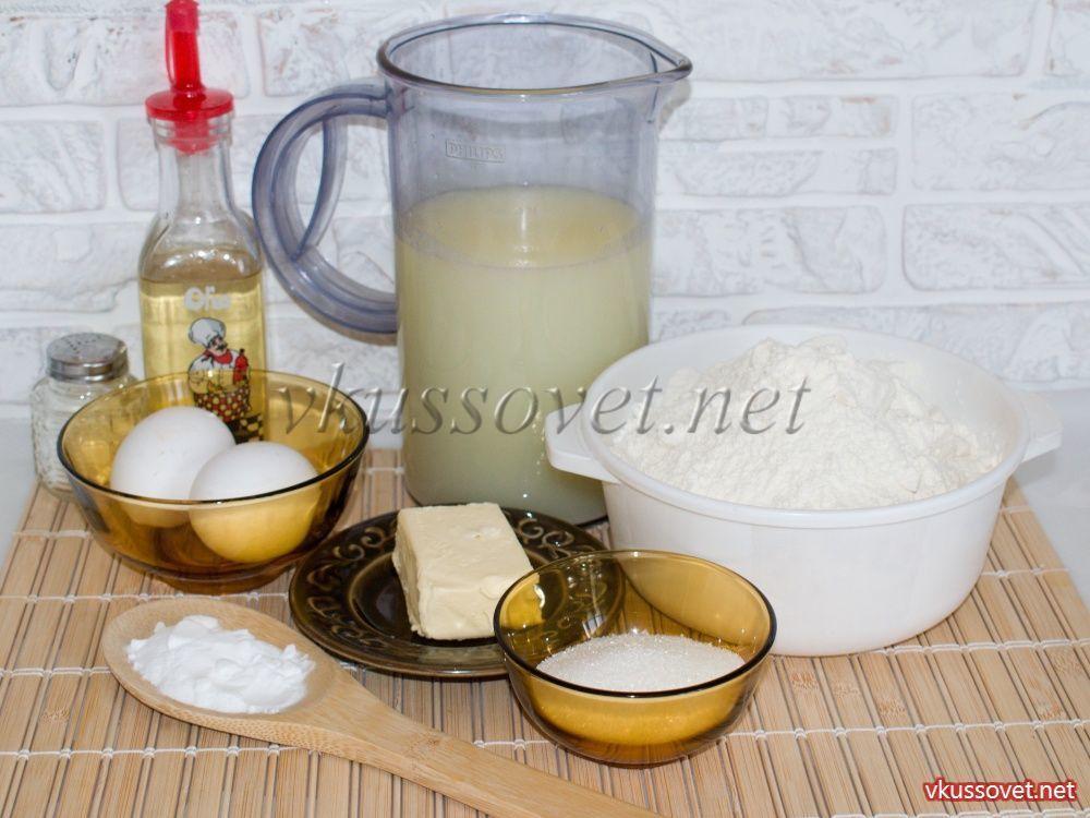 Блины на молочной сыворотке рецепт с пошагово