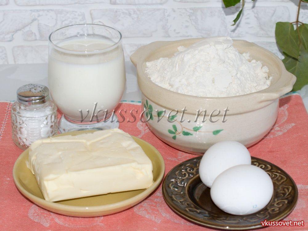 Тесто из прокисшего кефира для пирожков в духовке
