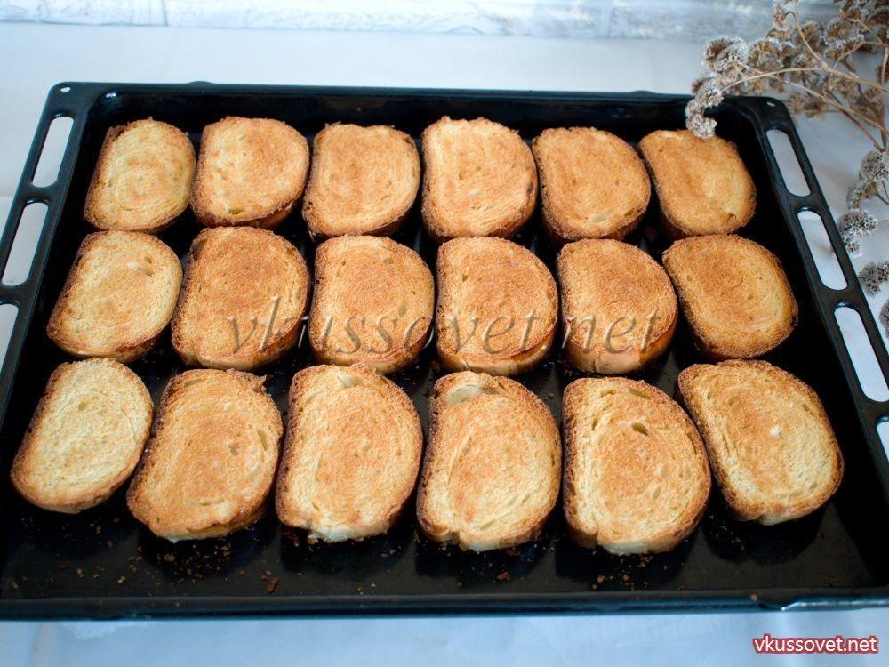 гренки в духовке сладкие рецепты