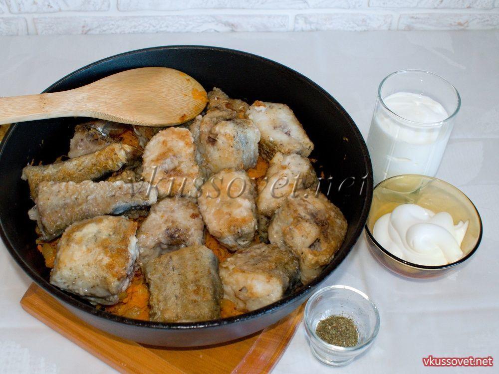 Блюда из минтая рецепты с пошагово