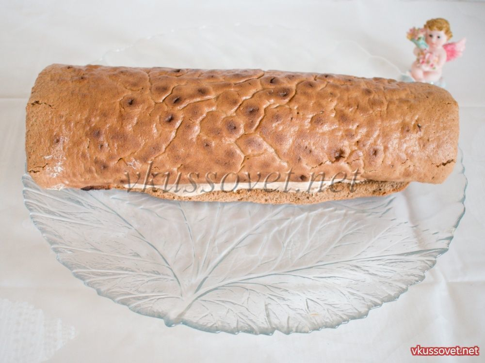 Торт полено с фото пошагово в домашних условиях 156