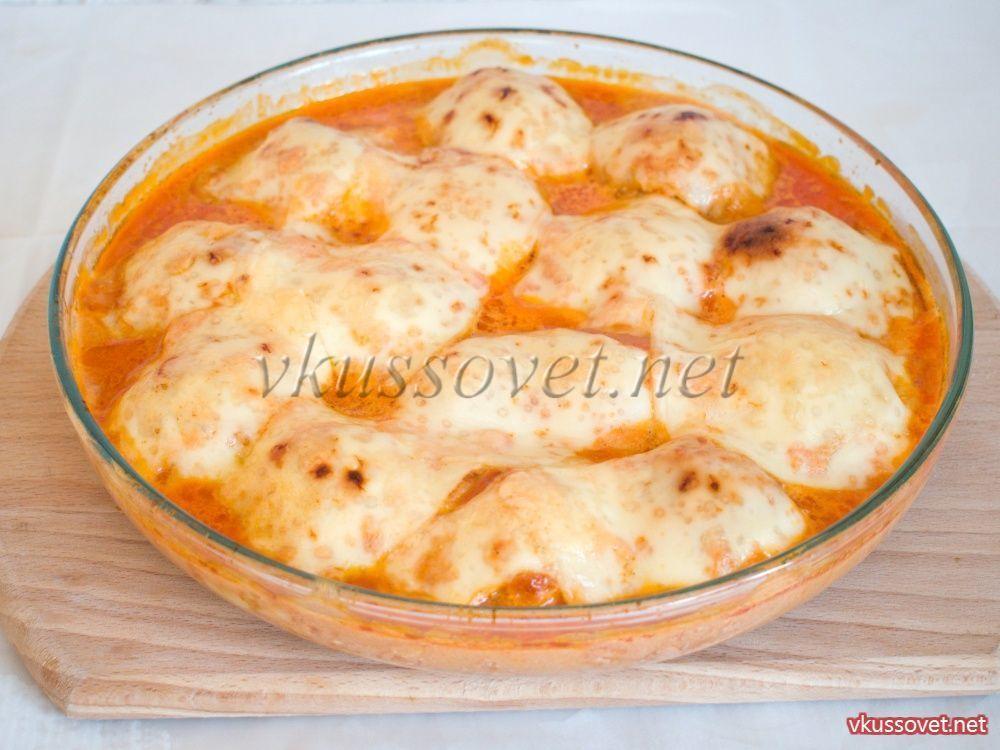 Рецепт тефтели с сыром в томатном соусе пошагово