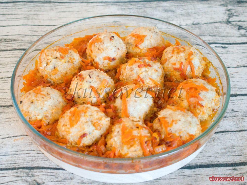 Рецепт тефтели рыбные с рисом