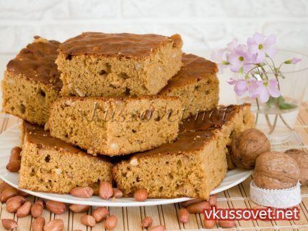 Пирог с вареной сгущенкой рецепт с фото