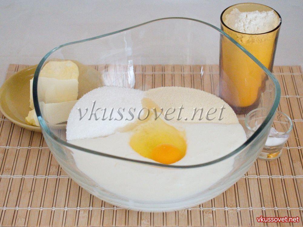 Манник на кефире рецепт классический в духовке