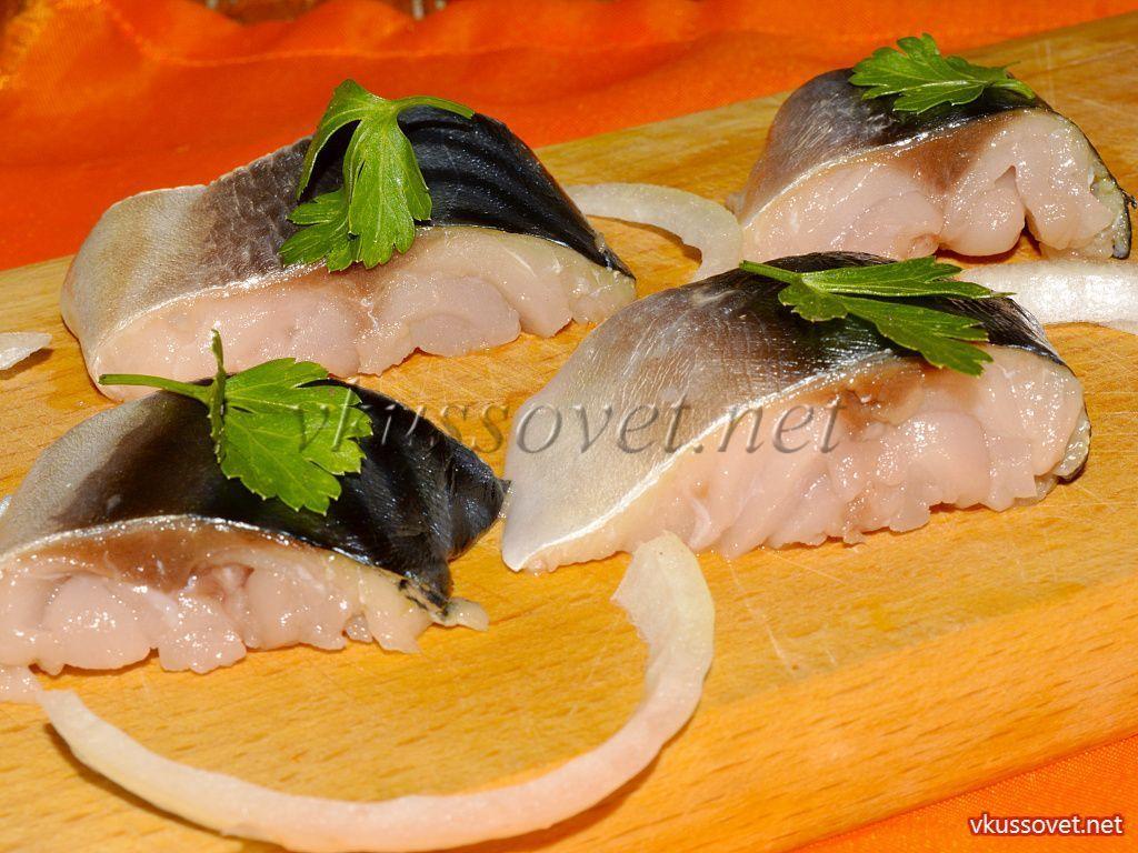 маринованная рыба толстолобик