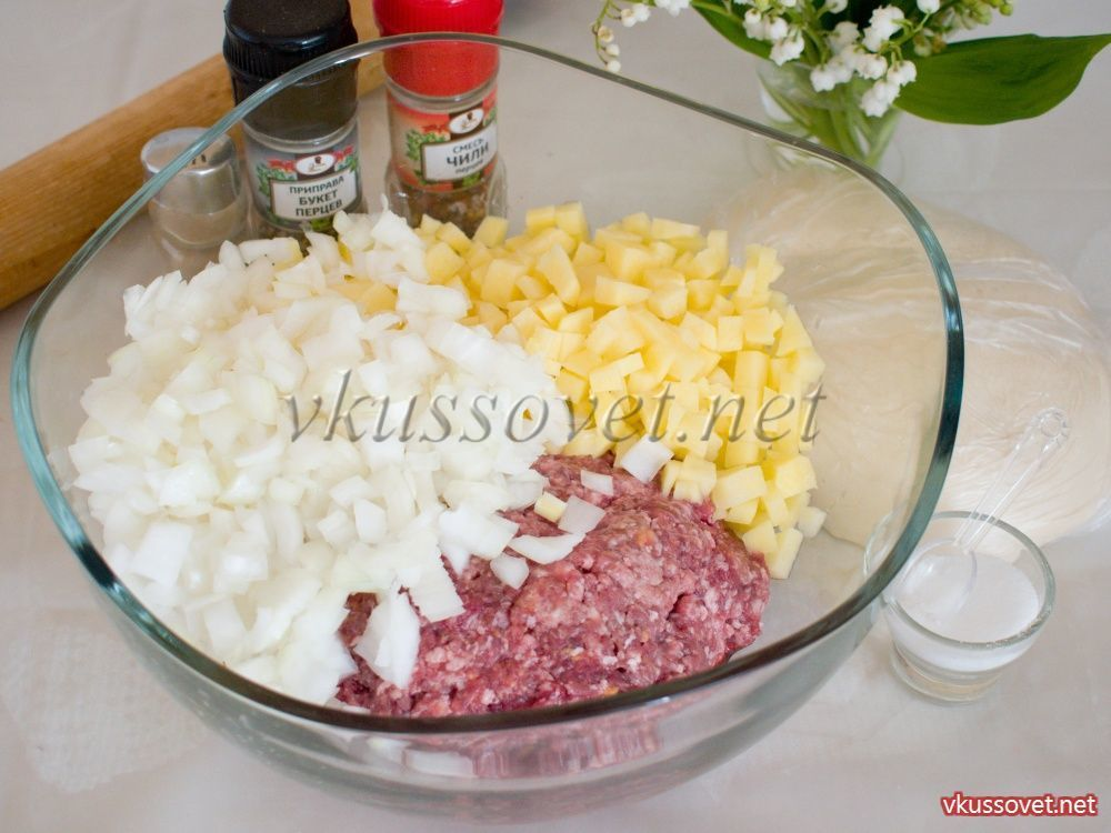 манты таджикские рецепт приготовления с фото