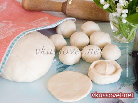 заварное тесто для пельменей и вареников без яиц рецепт с фото
