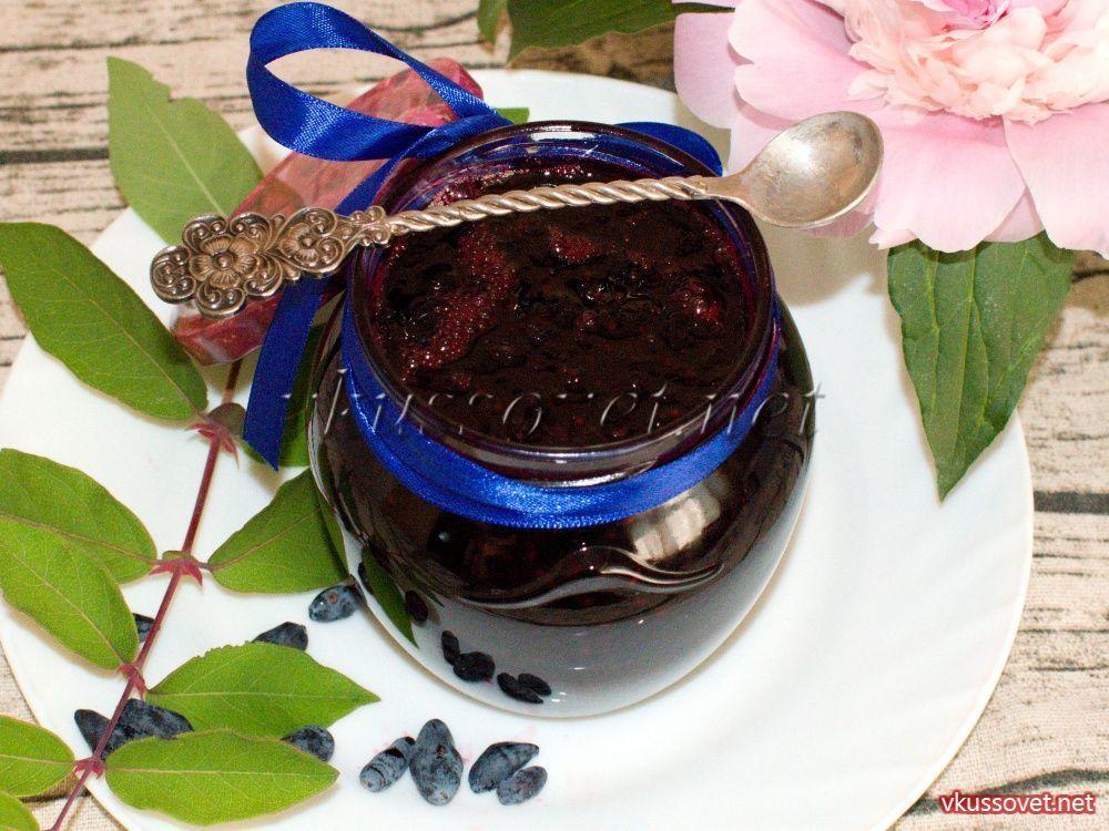 Варенье из жимолости пятиминутка - рецепт с фото на Повар.ру