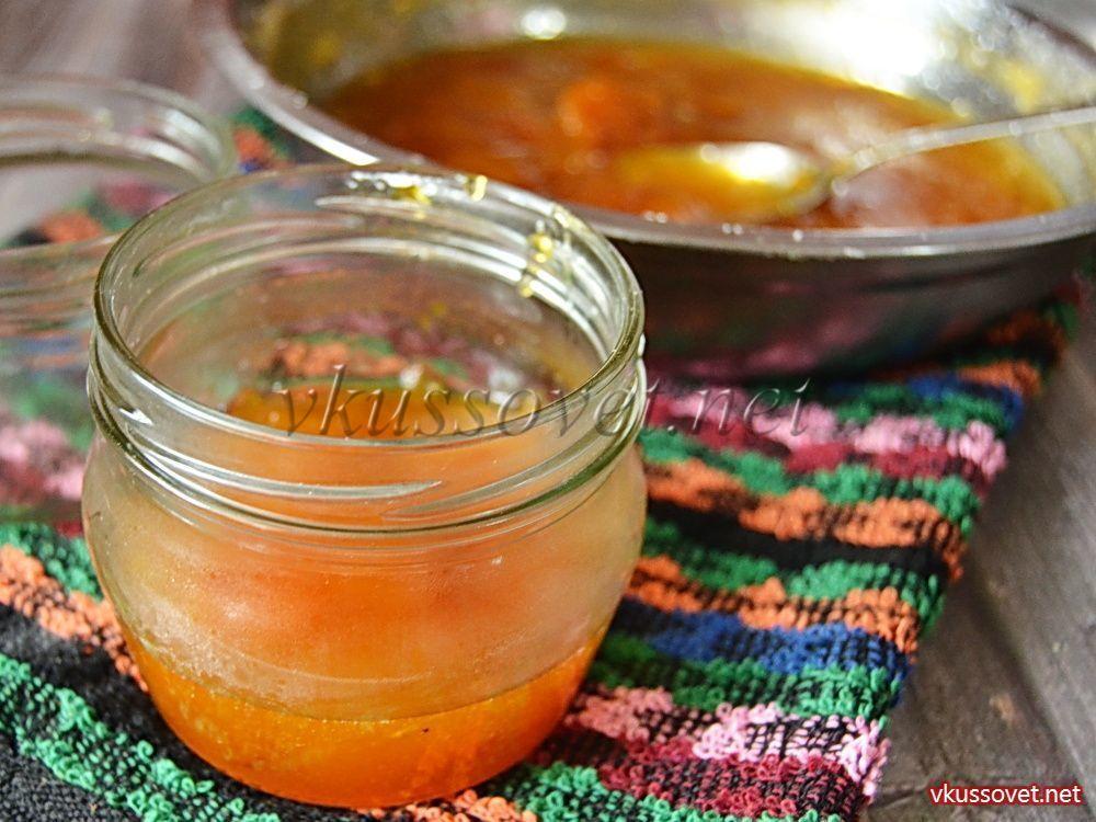 Приготовление джема из абрикосов в домашних условиях