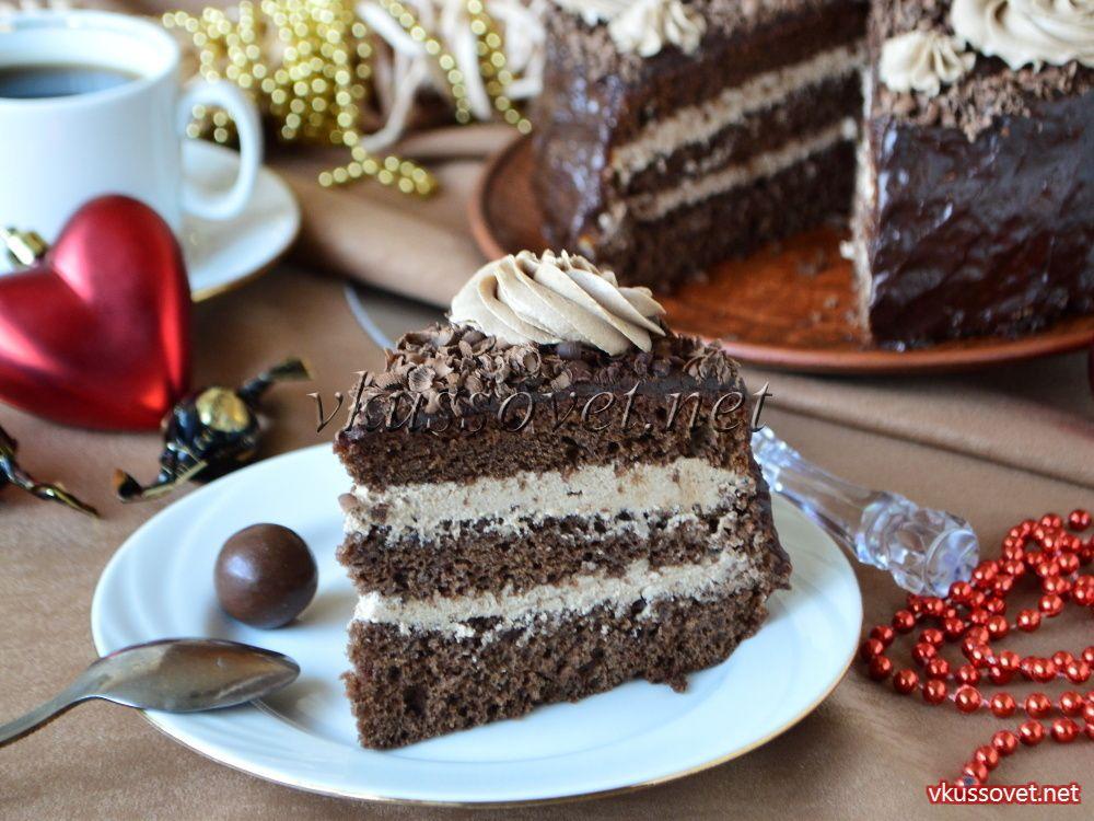 Вкусный домашний торт прага в домашних условиях 426