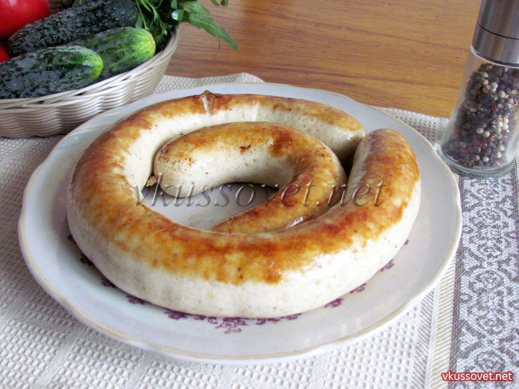 рецепты приготовления куриной колбасы с фото